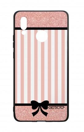 Cover Bicomponente Huawei P20Lite - Rosa romantico