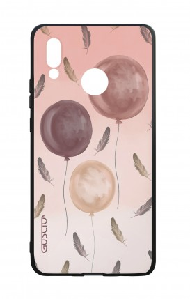 Cover Bicomponente Huawei P20Lite - 3 Palloncini rosa