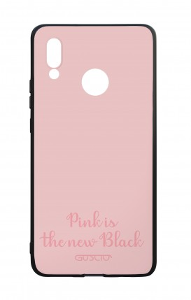 Cover Bicomponente Huawei P20Lite - Pink is the new Black