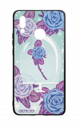 Huawei P20Lite WHT Two-Component Cover - Enchanting Rose