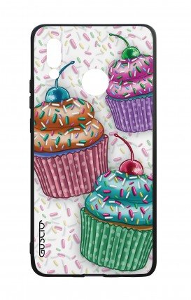 Huawei P20Lite WHT Two-Component Cover - Cupcakes