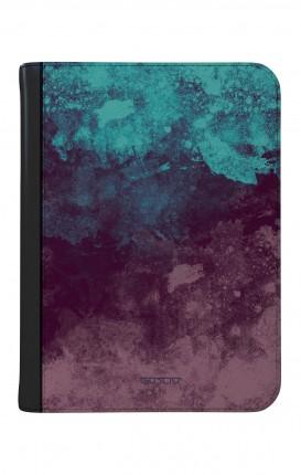 """Cover Universal Casebook SMALL for 4""""-4.5"""" display - Scritte in bianco e nero"""