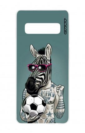 Case Samsung S10Plus - Zebra