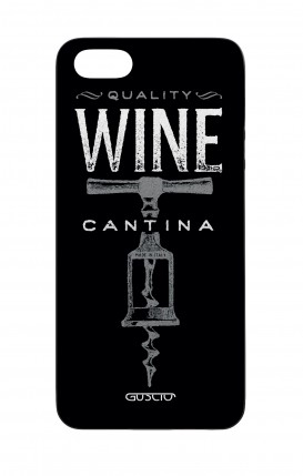 Apple iPhone 5 WHT Two-Component Cover - Wine Cantina