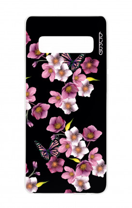 Cover Bicomponente Apple iPhone XR - Righe celeste