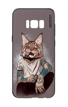 Cover Bicomponente Samsung S8 Plus - Lince Tattoo