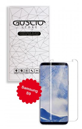 Tempered Glass 3D Full Glue Clear - Samsung S9 - Neutro
