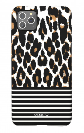 Soft Touch Case Apple iPhone 11 PRO MAX - Animalier & Stripes