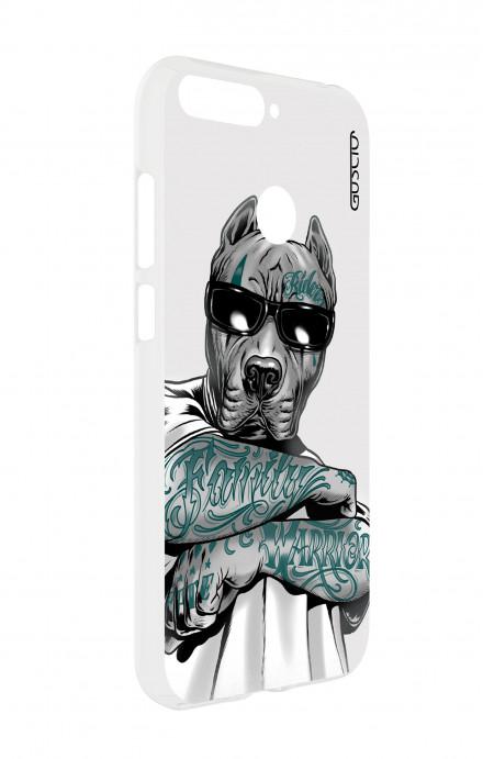 Cover TPU Apple iPhone 7/8  - Teschio in Smoking