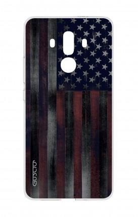 Cover HUAWEI Mate 10 PRO - Bandiera americana scura