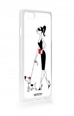 Cover Bicomponente Samsung S9Plus - Fiori su bianco