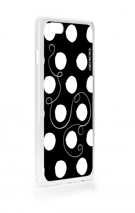 Cover Apple iPhone 7/8 - Polka Dots & Wire