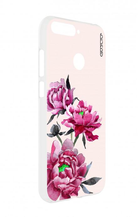 Cover TPU Samsung Galaxy J7 2016 - Scritte in bianco e nero