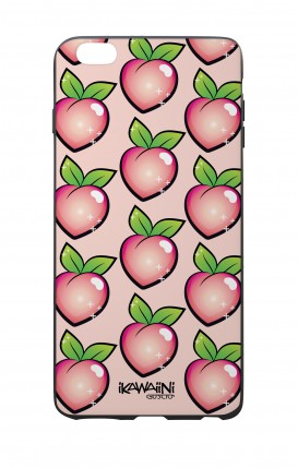 Apple iPhone 7/8 Plus White Two-Component Cover - Peaches Pattern Kawaii