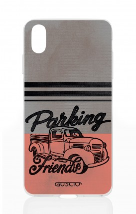 Cover Apple iPhone XS MAX - Parking Friends