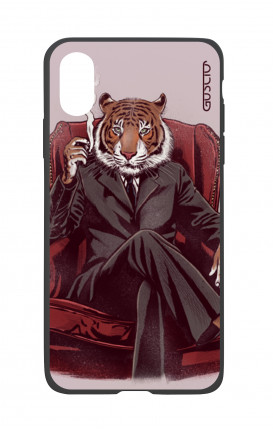 Apple iPhone XR Two-Component Cover - Elegant Tiger