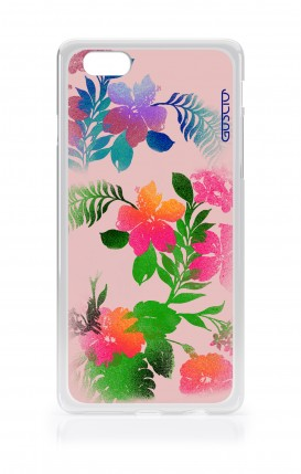 Cover Apple iPhone 7/8 - Flowers Pink