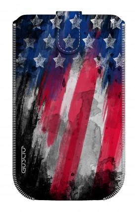 Cover Pouch Size L - Bandiera americana