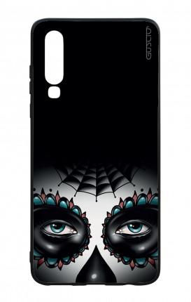 Cover Bicomponente Samsung S8 Plus - Teschi messicani trasperente