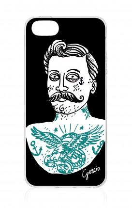 Cover Apple iPhone 5/5s/SE - Mezzobusto tatuato