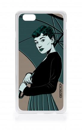 Cover Apple iPhone 7/8 Plus TPU - Audrey con ombrello