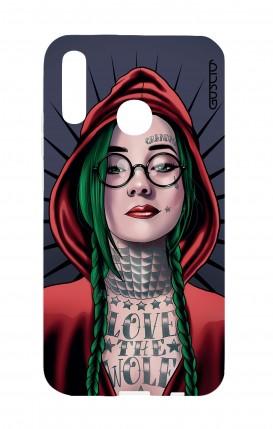 Cover Huawei P20Lite - Cappuccetto rosso tatuata