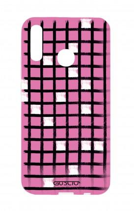 Cover Huawei P20Lite - Cruciverba rosa