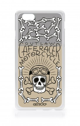 Cover Apple iPhone 7/8 Plus TPU - Cafe Racer Skull