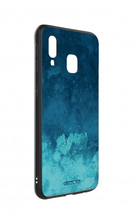 Case Samsung S10e Lite - Stripes on Dark Blue