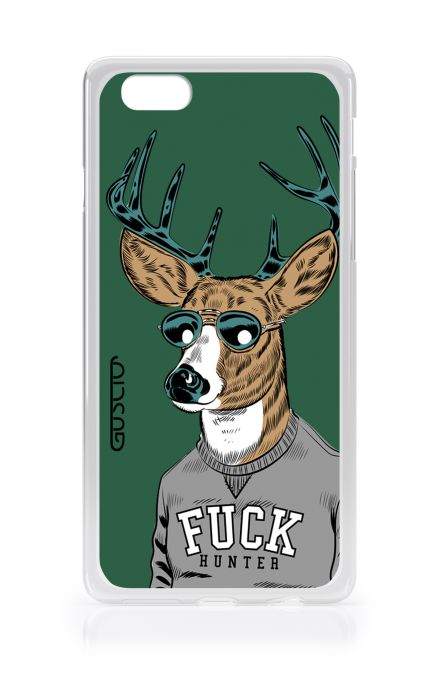Cover Apple iPhone 7/8 Plus TPU - Fuck Hunter