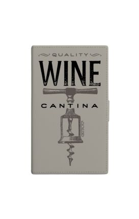 Cover Universal Casebook size3 GREY - Wine Cantina