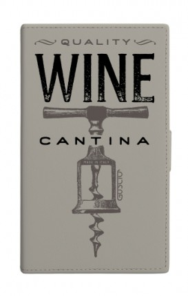 """Cover Universal Casebook MEDIUM for 4.7""""-5.1'' display - Wine Cantina"""