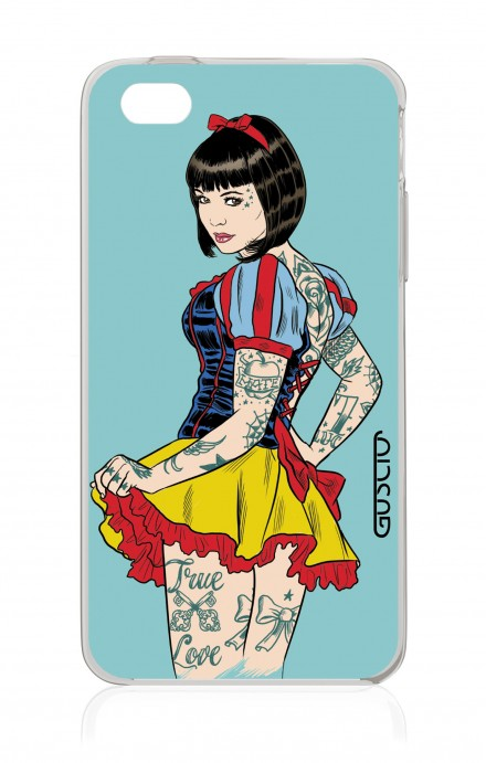 Cover Apple iPhone 4/4S - Pin Up true love