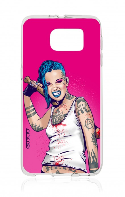Cover Samsung Galaxy S6 - Girl in Turqoise