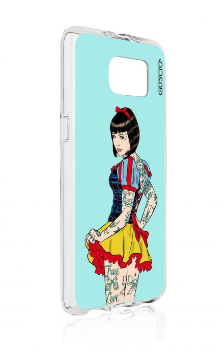 Cover TPU Samsung Galaxy S6 - Pin Up true love