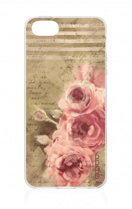 Cover Apple iPhone 5/5s/SE - Lettere e rose