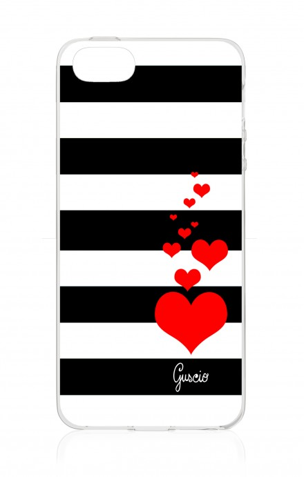 Cover Apple iPhone 5/5s/SE - Loving Stripes