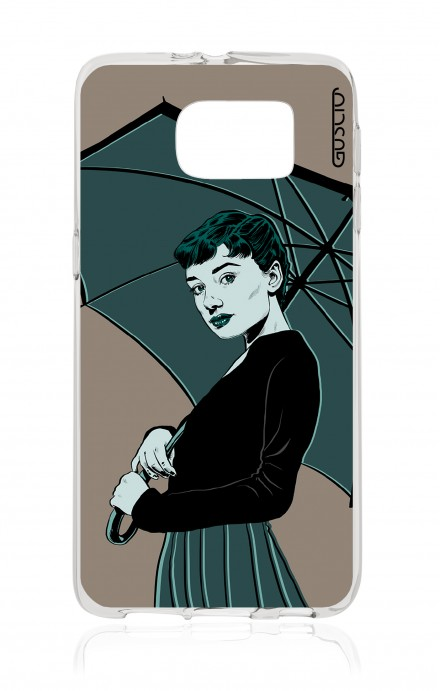 Cover Samsung Galaxy S6 - Audrey Umbrella