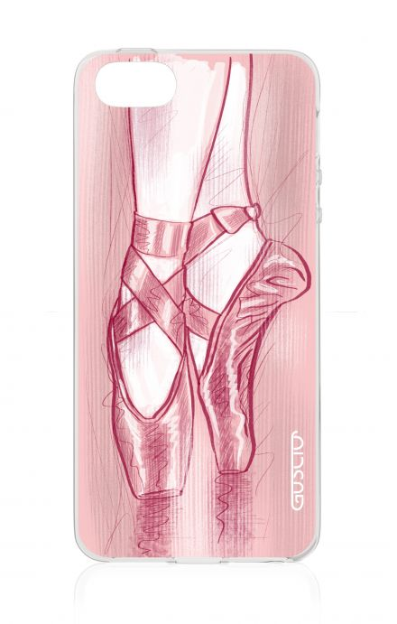 Cover Apple iPhone 5/5s/SE - Ballet Slippers