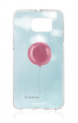 Cover TPU Samsung Galaxy S6 - palloncino della libertà