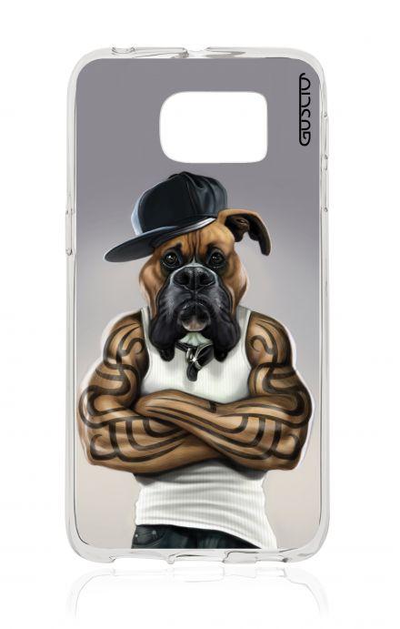 Cover Samsung Galaxy S6 Edge SM G925 - HipHop Bulldog