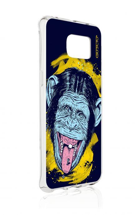 Cover Samsung Galaxy S6 Edge SM G925 - Love the Monkey