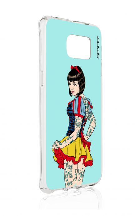 Cover TPU Samsung Galaxy S6 Edge - Pin Up true love