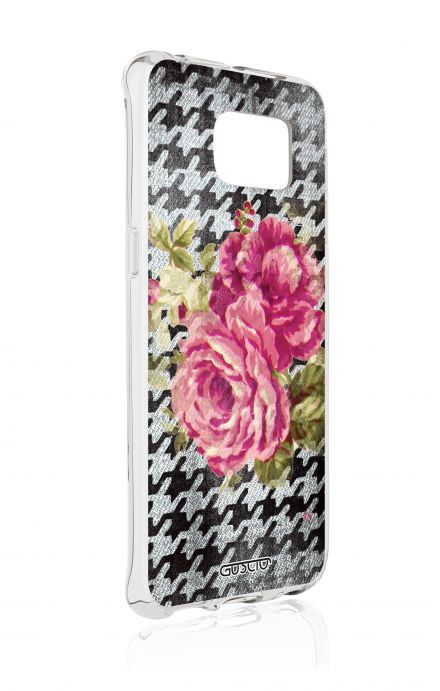 Cover Samsung Galaxy S6 Edge SM G925 - Piedepoul flower