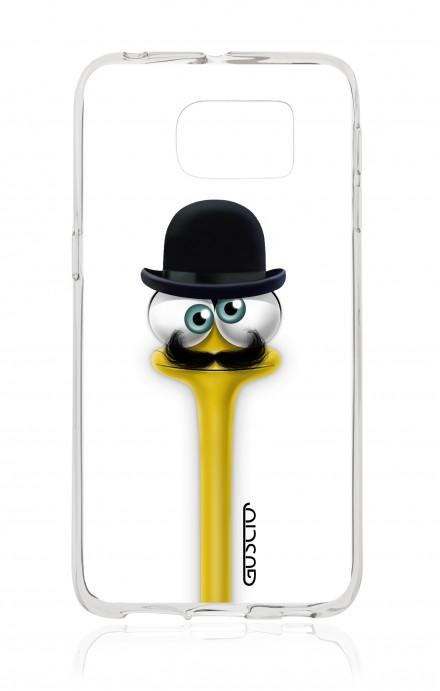 Cover TPU Samsung Galaxy S6 Edge - Yelloneck Moustache