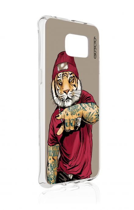 Cover Samsung Galaxy S6 Edge SM G925 - Hip Hop Tiger