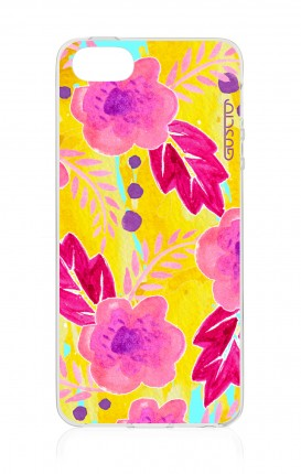 Cover Apple iPhone 5/5s/SE - Fiori gialli