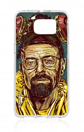 Cover Samsung Galaxy S6 Edge - Mr White