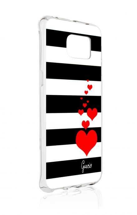 Cover Samsung Galaxy S6 Edge SM G925 - Loving Stripes