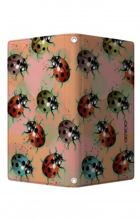 "UNV BOOK Case M/L 5.0-5.2"" display - Magnetic - Lady bugs"